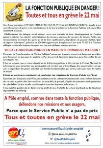 tract grève du 20 novembre 2018
